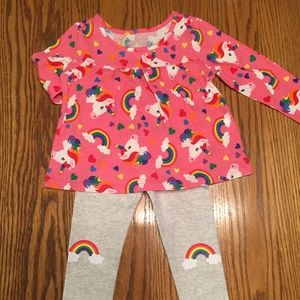 Children's Place Dress & Pants, size 12-18 months